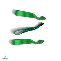 Emerald Trio - Color of the Year 2013 - 3 Hair Ties