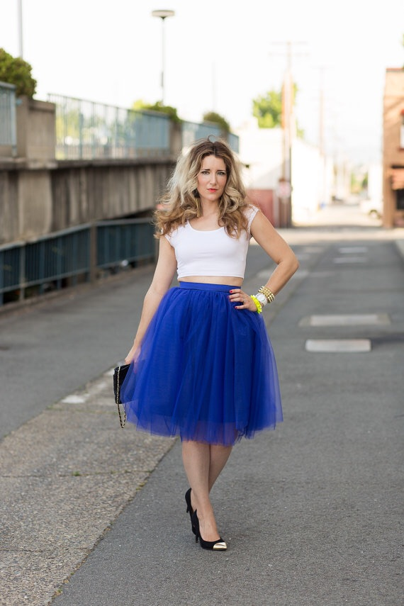 royal blue tulle skirt 183 trendy wendy z boutique 183