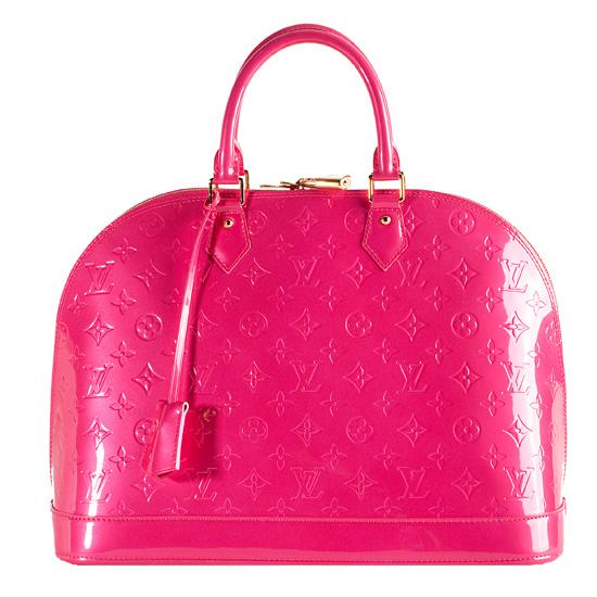 Bolsos de trapillo pink lv purse for Louis vuitton miroir replica
