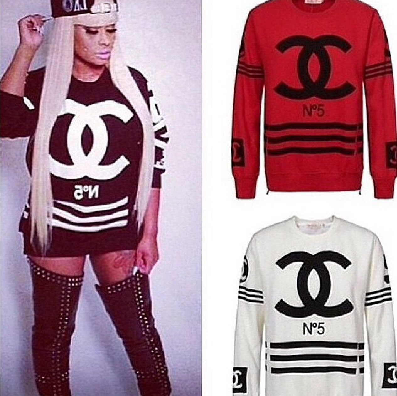 Coco Chanel N5 Sweaters