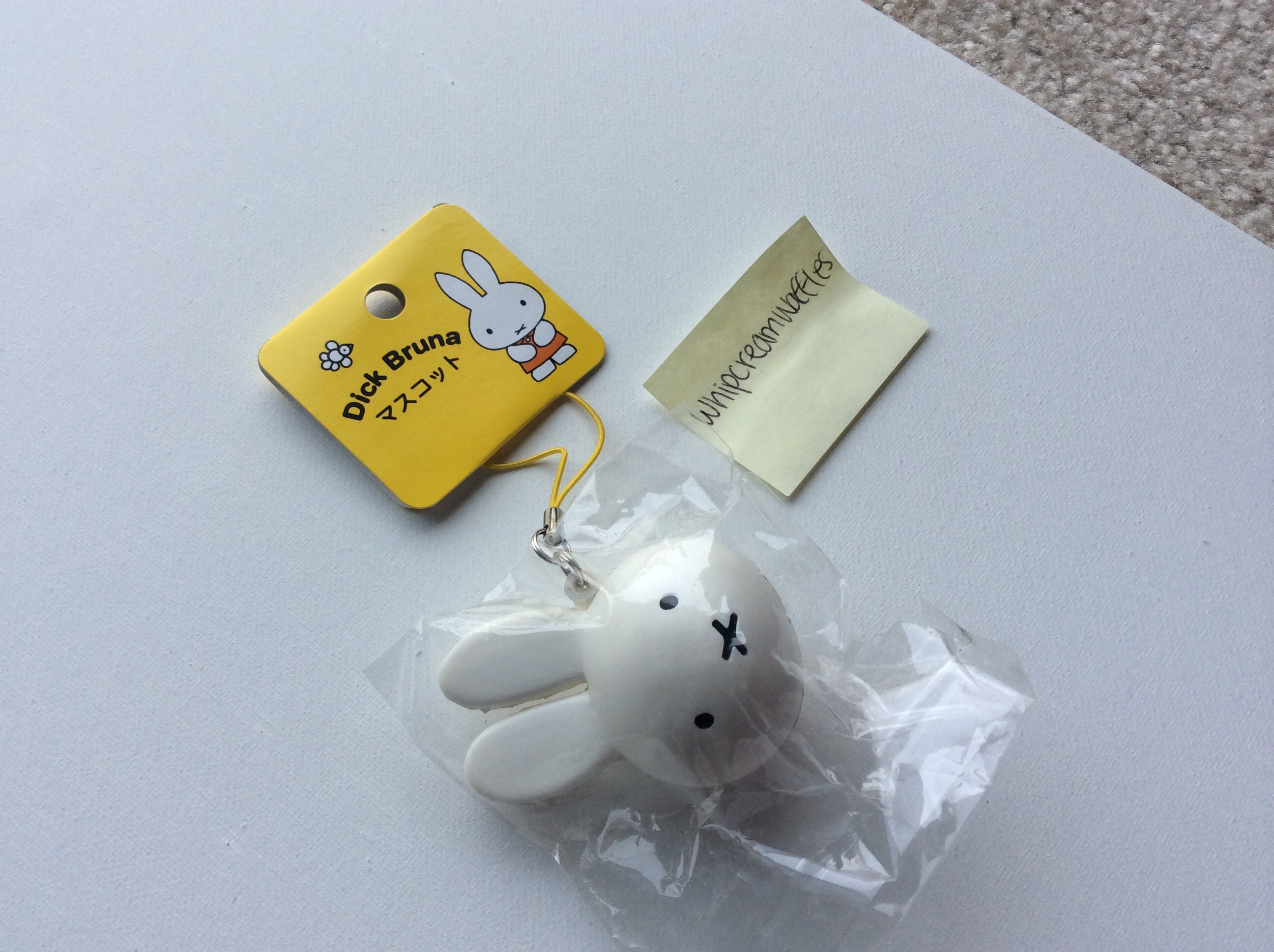 Squishy Head : Rare Miffy Head Squishy ? Whipcreamwaffles ? Online Store Powered by Storenvy