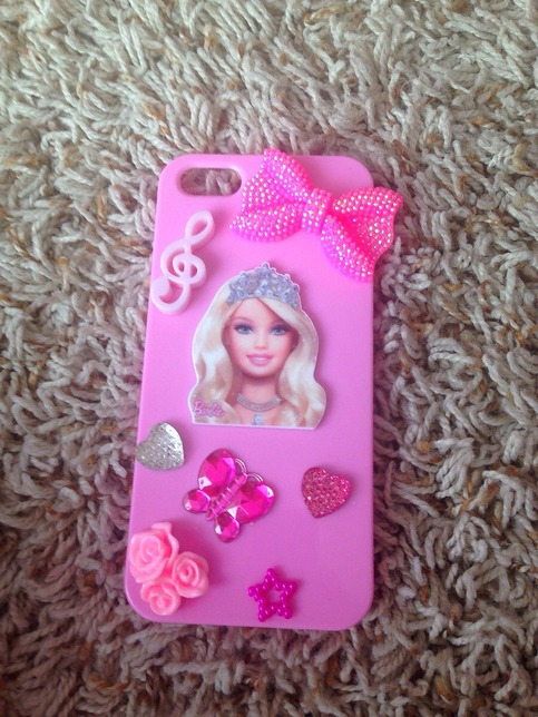 Barbie phone case clay online store powered - Telephone barbie ...