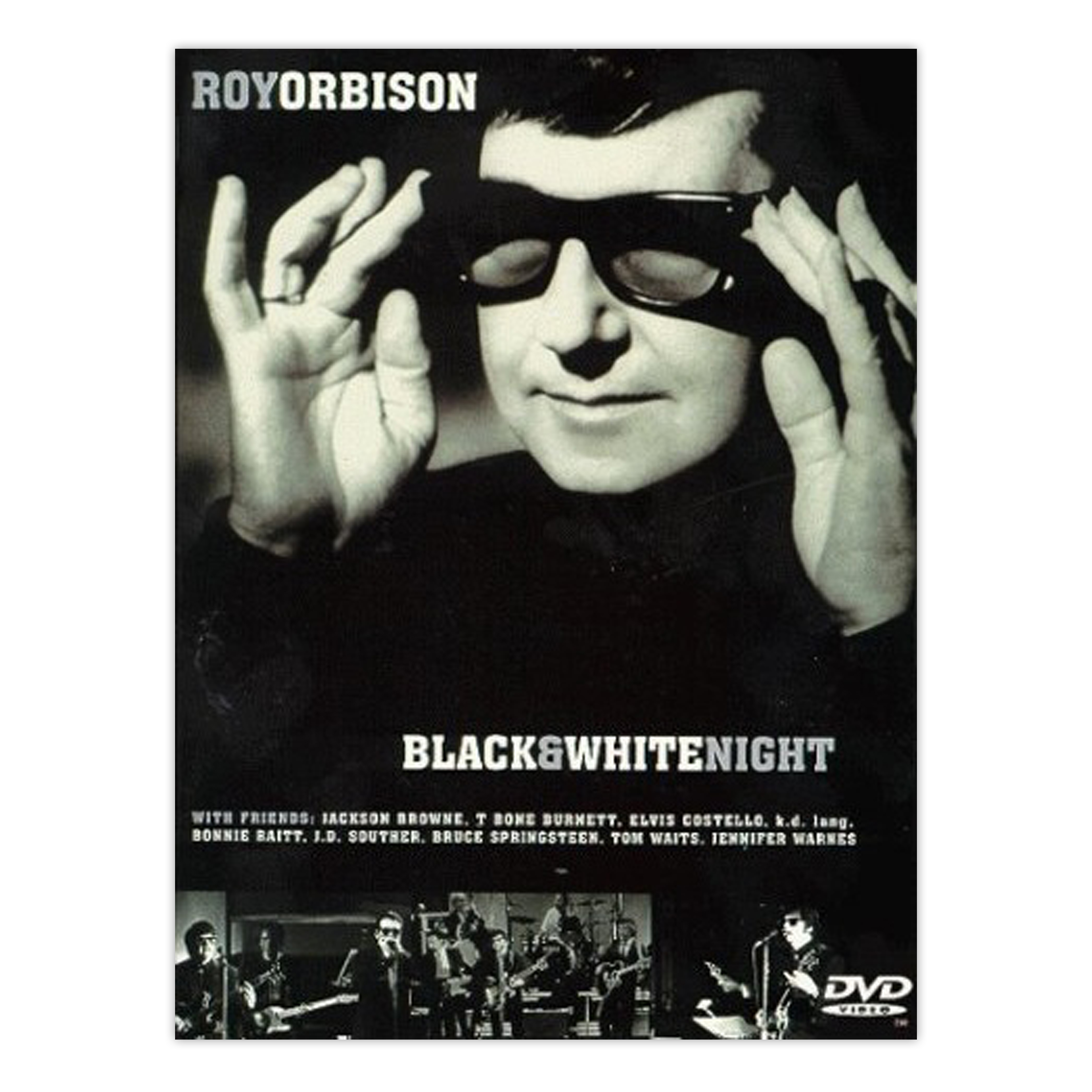 Roy Orbison Amp Friends A Black Amp White Night Dvd 183 Roy