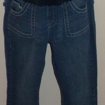 Denim Jeans-Bella Vida Maternity Size Large  03211