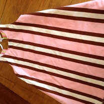 **ON SALE** Preppy Stripe Reversible Dress