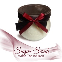 White Tea Infusion Sugar Scrub