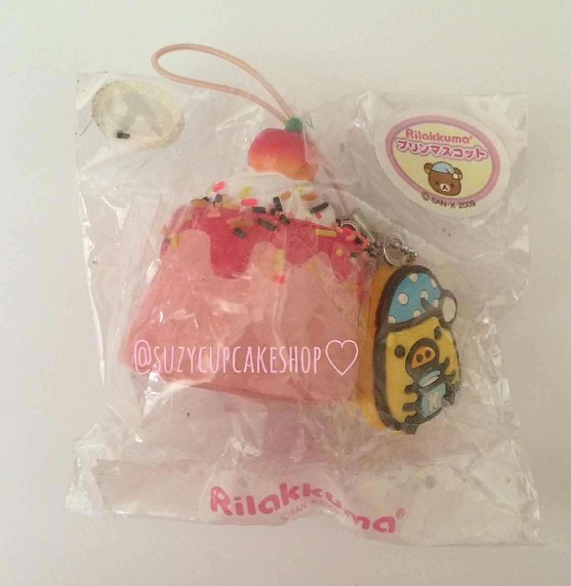 Super rare Rilakkuma tag kiiroitori tag flan squishy ? SuzyCupcake ? Online Store Powered by ...