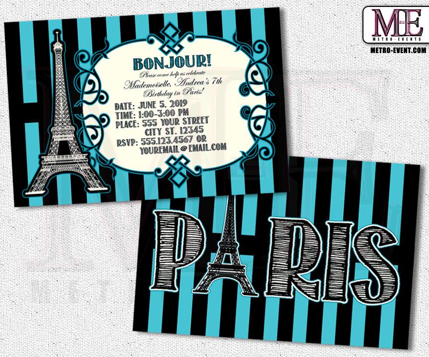 Paris invitations paris party paris birthday sweet 16 invitations paris invitations paris party paris birthday sweet 16 invitations paris invitation filmwisefo