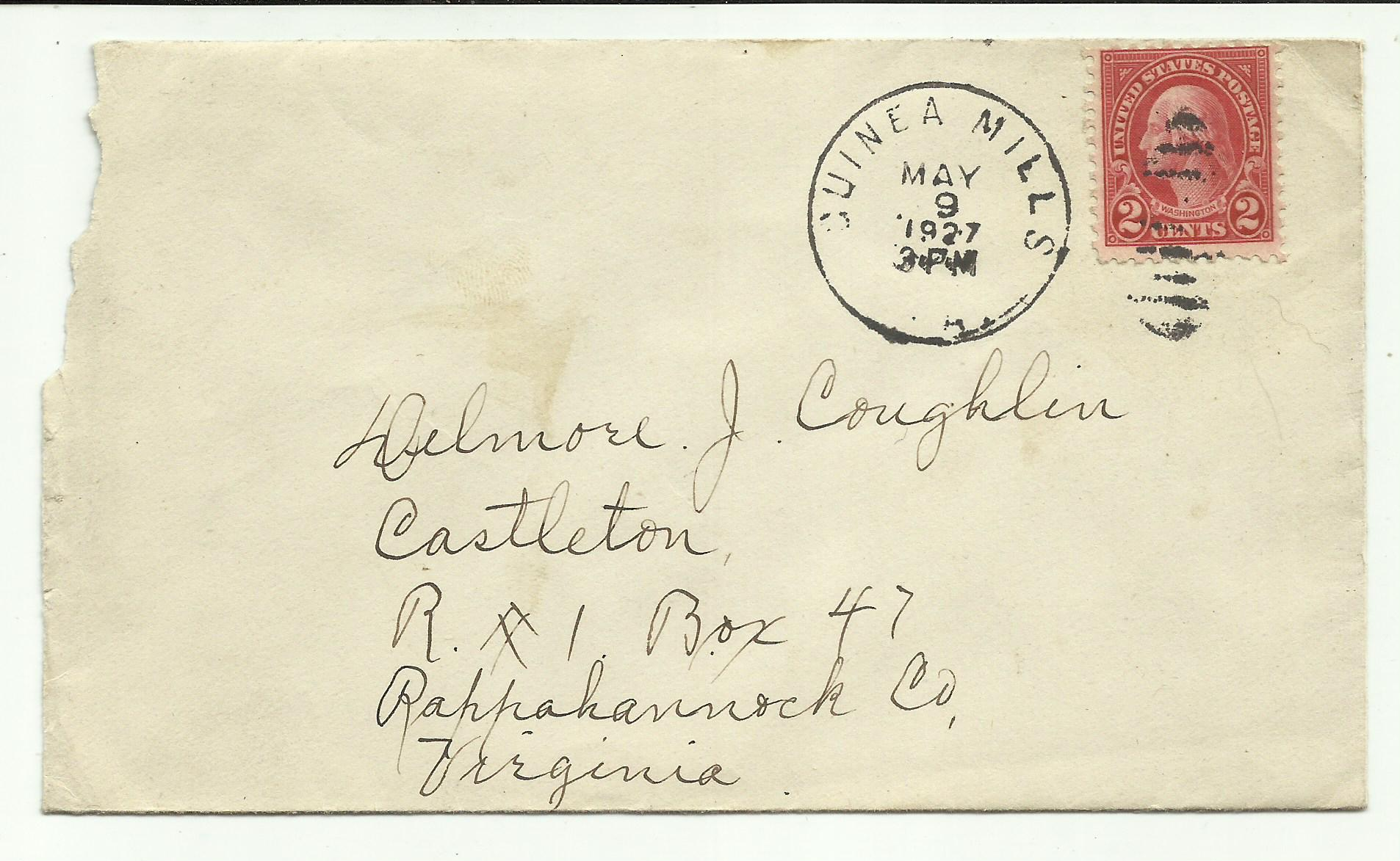 Discontinued post office guinea mills virginia washington for Post office design your own stamps