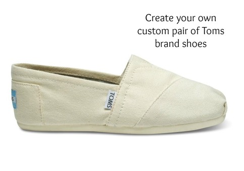 create your own toms brand shoes men and women on storenvy. Black Bedroom Furniture Sets. Home Design Ideas
