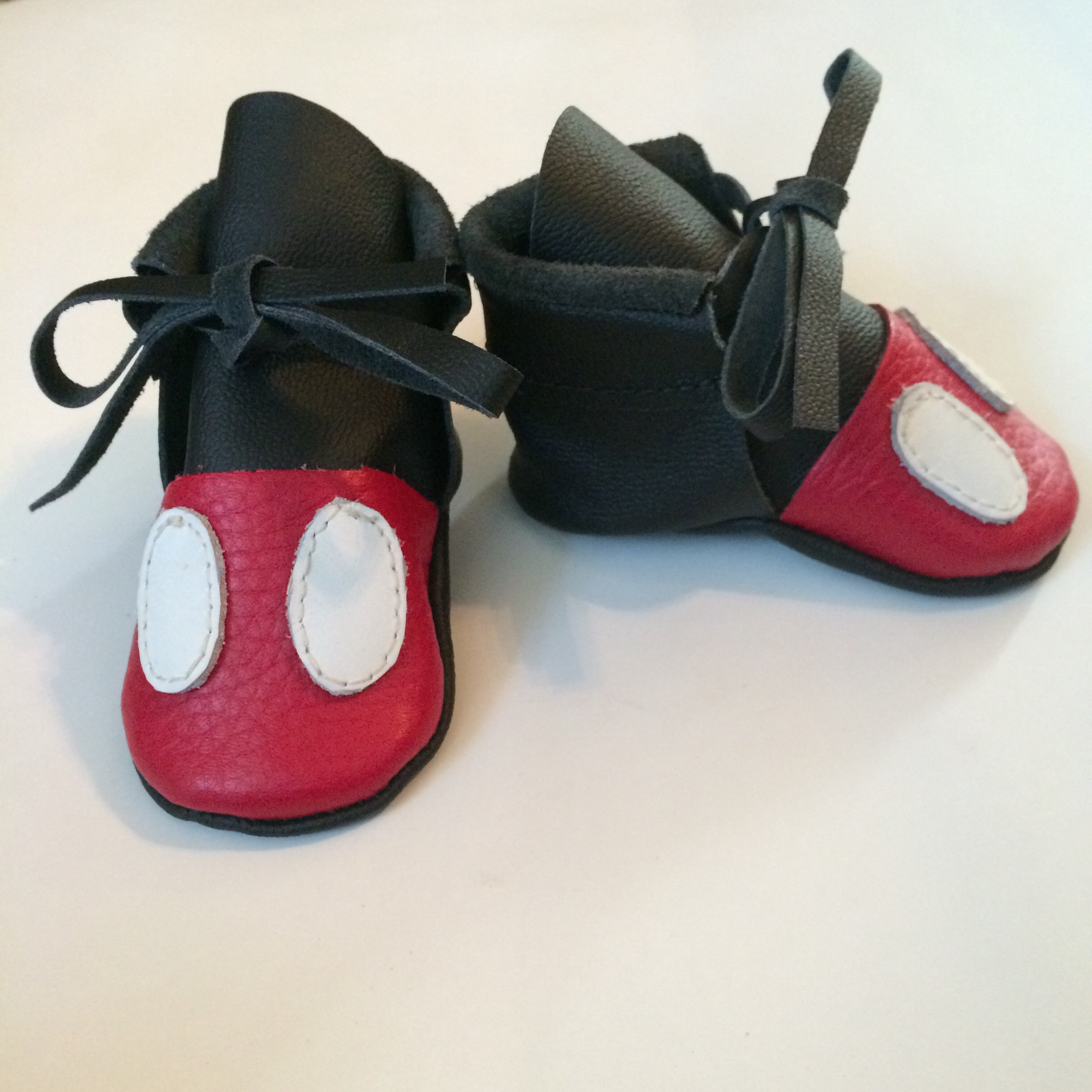 Mickey Mouse Booties Moccasins · Grace&Belle · line Store Powered
