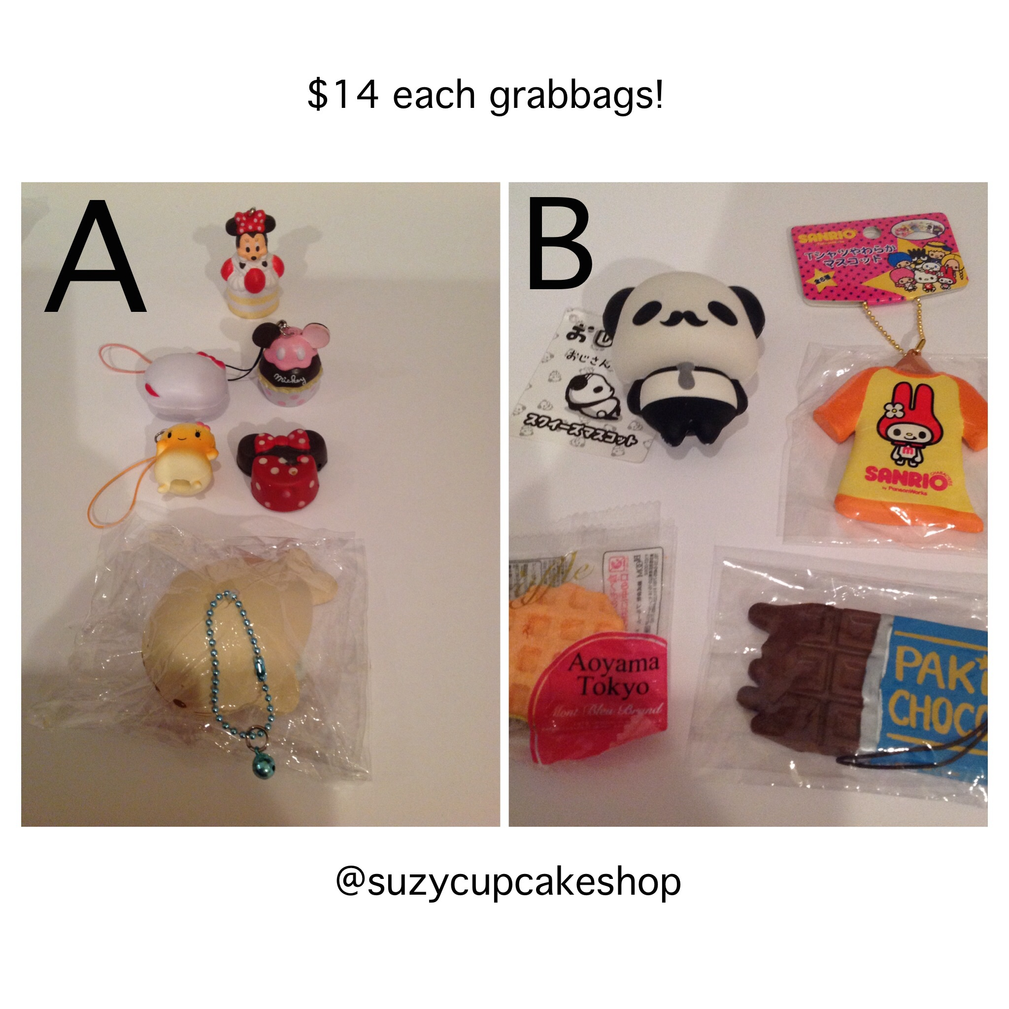 Cheap rare squishy grabbags ? SuzyCupcake ? Online Store Powered by Storenvy