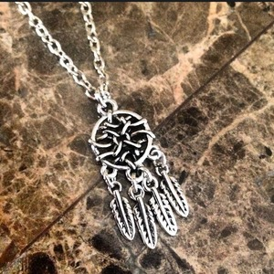 Dream Catcher Aztec Necklace