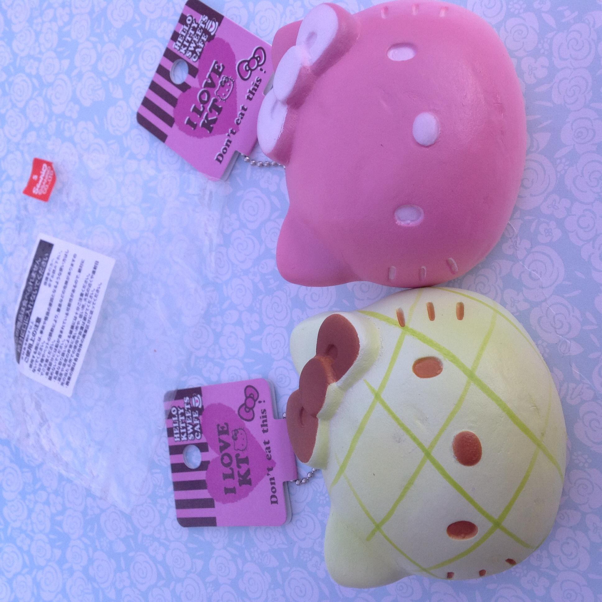Squishy Head Bun : Rare Hello kitty head bun squishy ? SuzyCupcake ? Online Store Powered by Storenvy