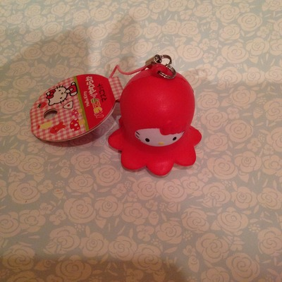 Rare Fish Squishy : Super rare hello kitty octopus / squid squishy ? SuzyCupcake ? Online Store Powered by Storenvy