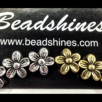 Flower Bead (100pcs)10mm
