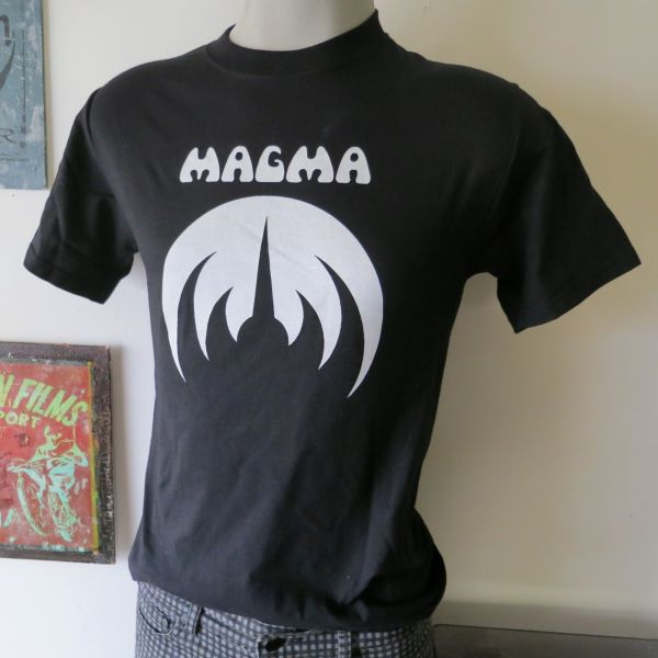 Magma t shirt screen print vintage tees t shirts for Vintage screen print t shirts