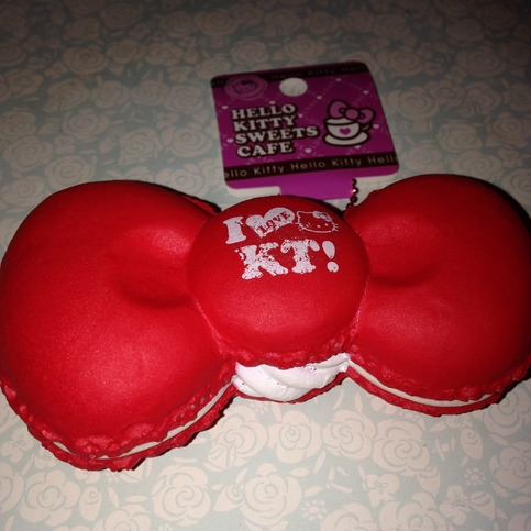 Huge Rare Squishy Collection : Rare hello kitty red bow macaron squishy ? SuzyCupcake ? Online Store Powered by Storenvy