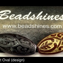 Engraved Flat Oval 30mm x 20mm