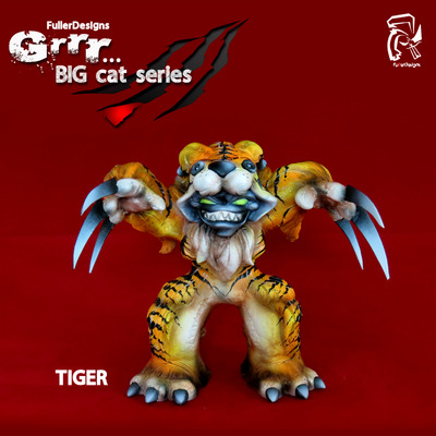 Grrr... big cat series tiger