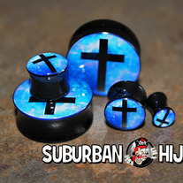 Galaxy Cross Saddle Plugs