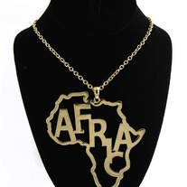 Africa necklace Silver
