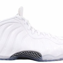 NIKE FOAMPOSITE WHITE OUTS 314996-100