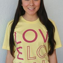 """Love Local"" - Unisex Yellow Crewneck"