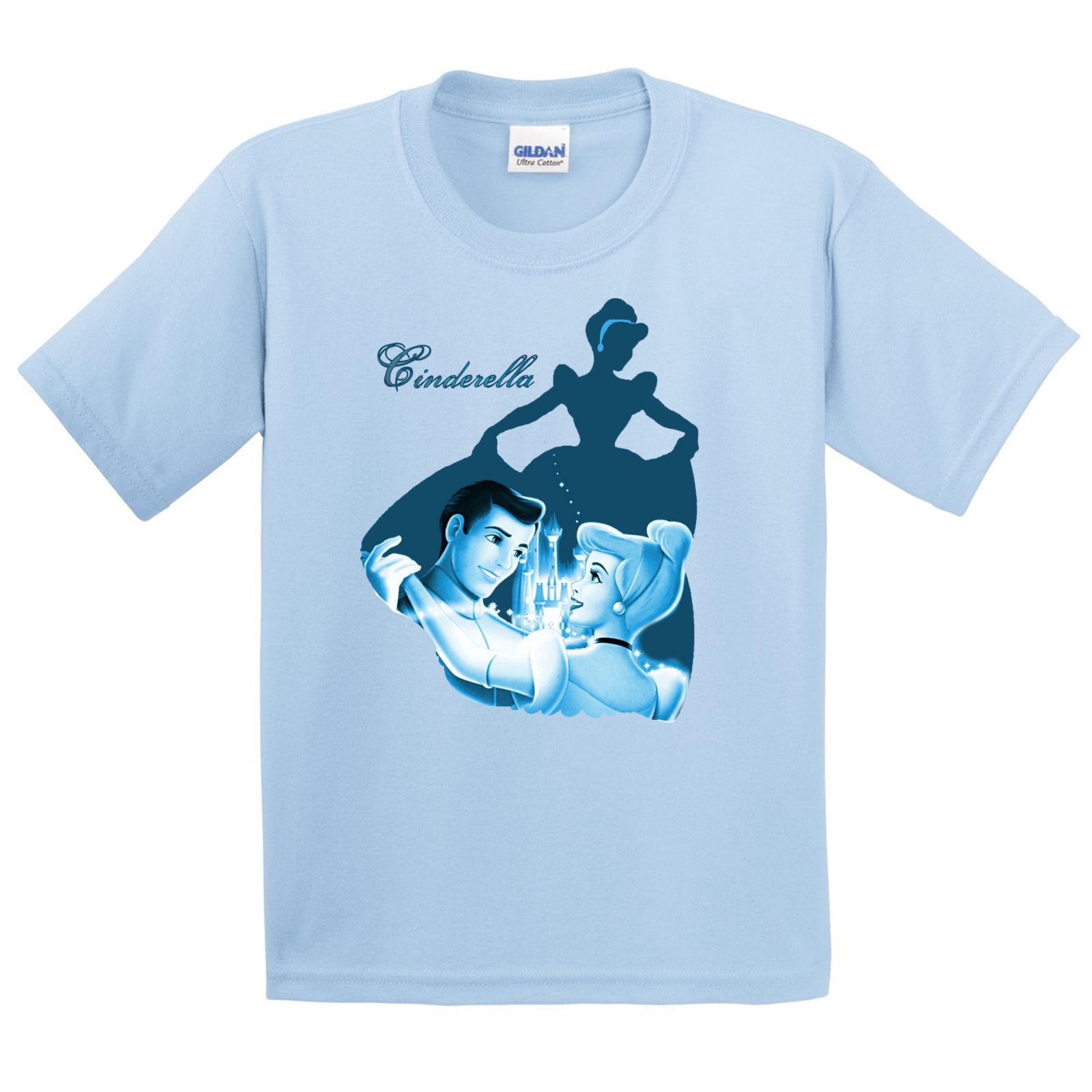 Cinderella Silhouette Girl 39 S Kids T Shirt My Heart Has