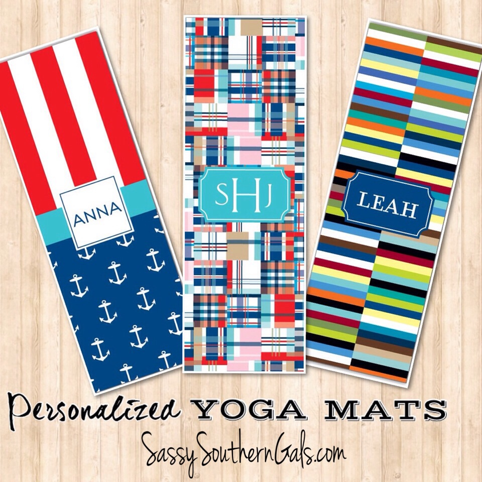 pin monogrammed own yoga monograms and mat design personalized your mats
