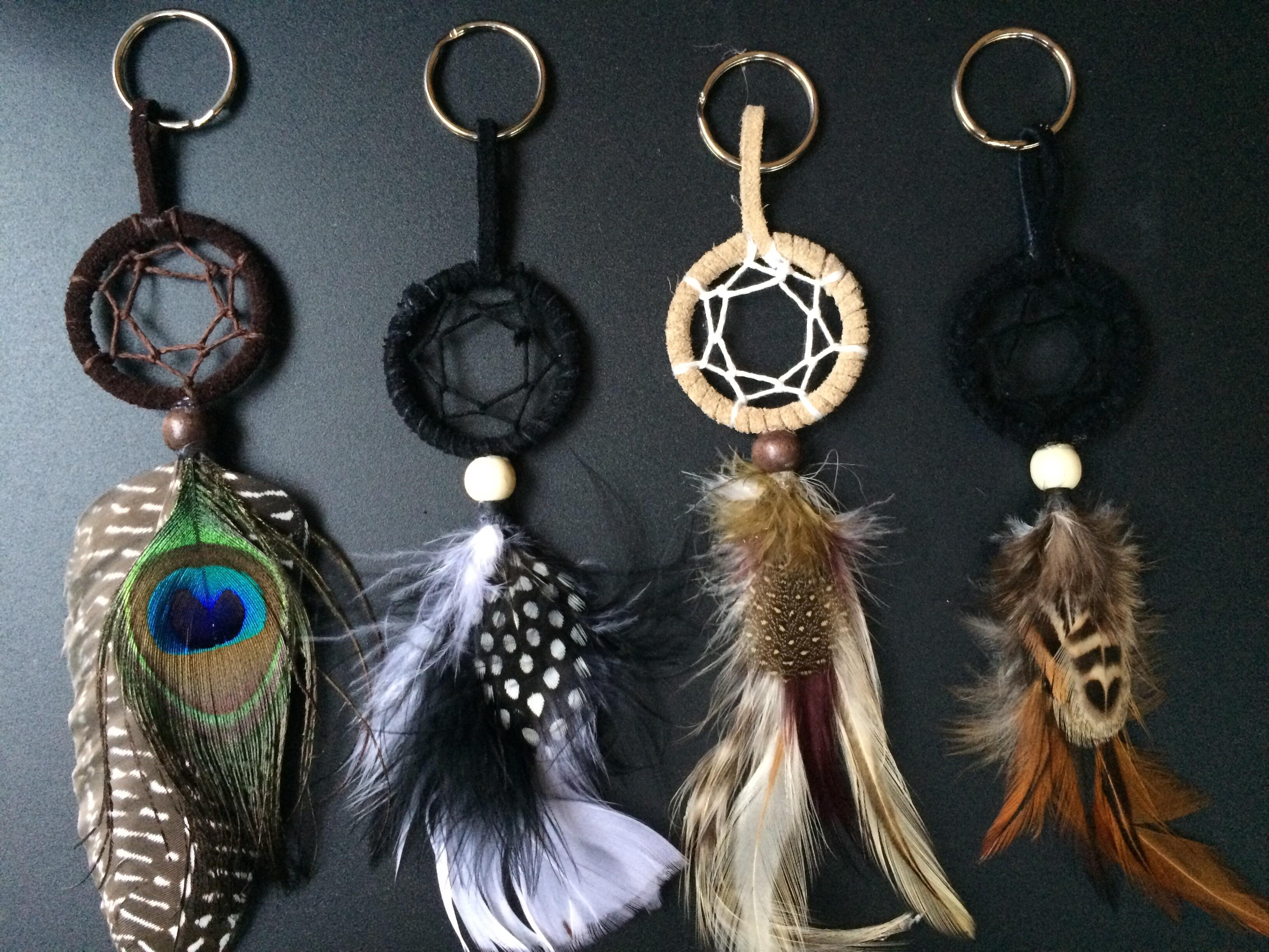 Dream catcher keychain/purse accessory u00b7 Rising Sun (Oriana ...