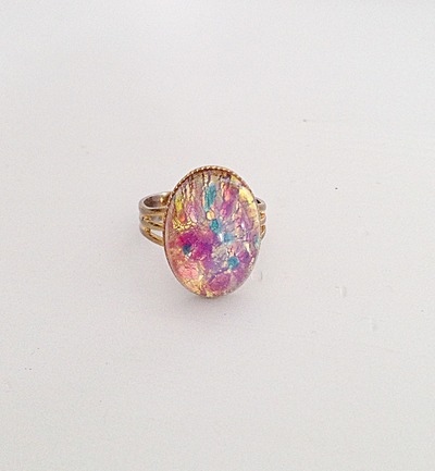 Opal Ring Under  Dollars
