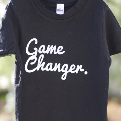 Game changer short sleeve tee - black