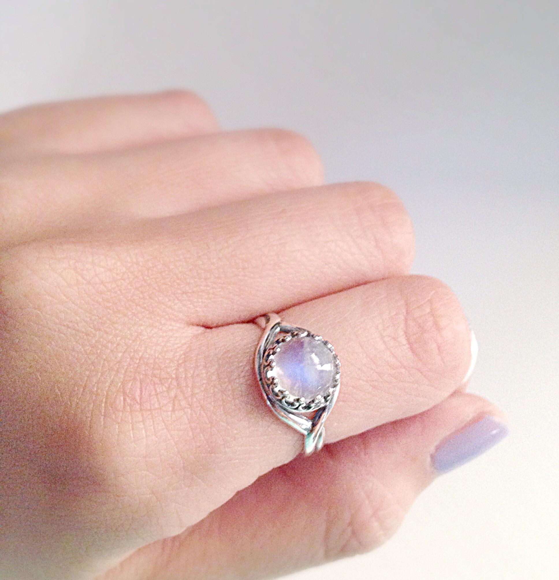 Mini Rainbow Moonstone · emily thai jewelry · Online Store Powered ...