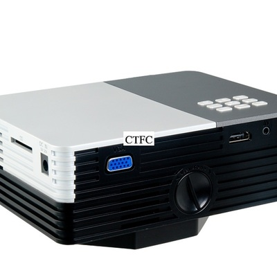 Gm50 1080p hd portable home theater led projector with usb, sd, vga, hdmi & av for mobile phones