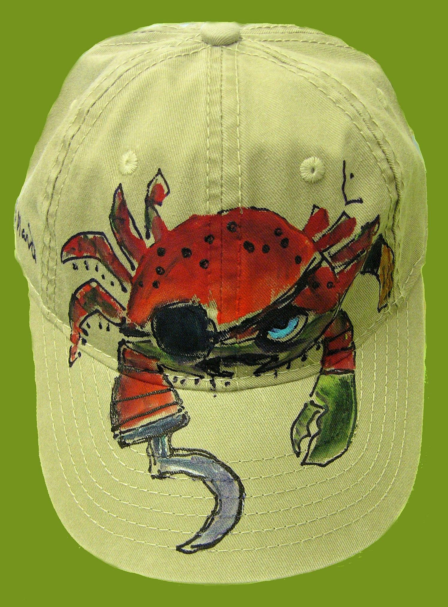 Pirate Crab Baseball Cap 183 Deborah Willard Design 183 Online