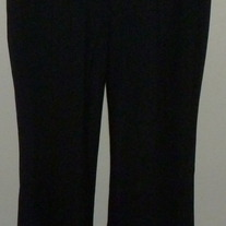 Black Dress Pants-Gap Maternity Modern Boot Size 8 Regular Stretch  04124
