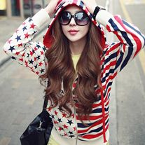 Chaqueta Barras y Estrella / Stars and Stripes Hoodie 2WH248