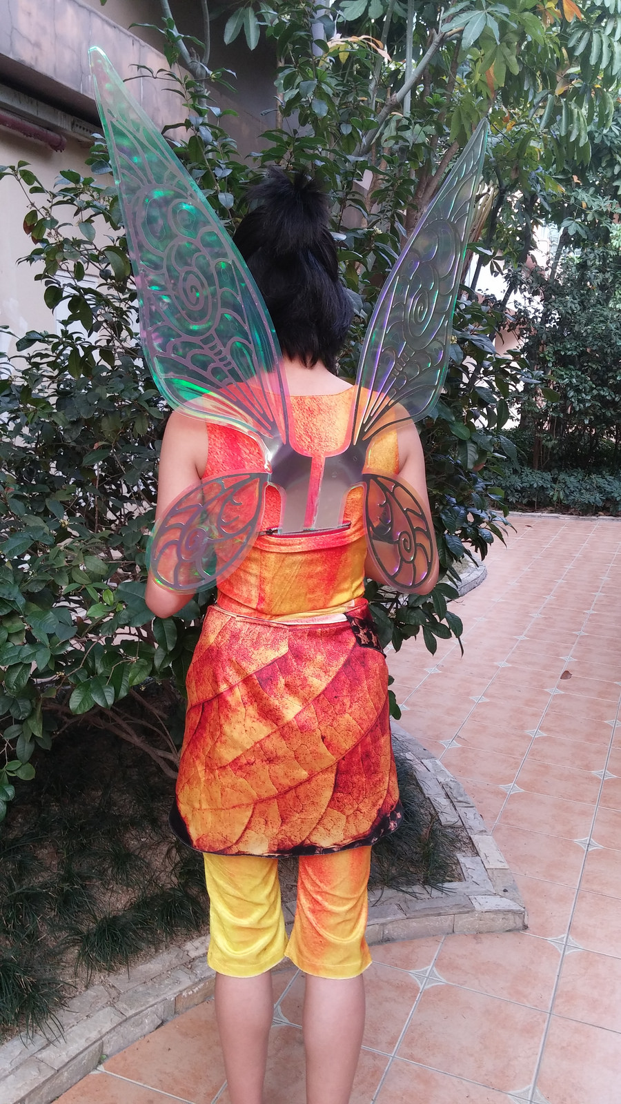 100 fawn fairy halloween costume upcycled steampunk
