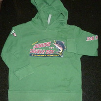 Green Fishing Hoodie-Baby Gap Size 18-24 Months