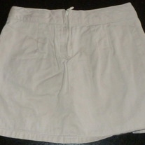 Khaki Skirt with Built in Shorts-Old Navy Size 5