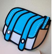 Sideway Anime Backpack BLUE