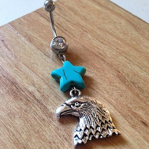 Free Bird Belly Ring