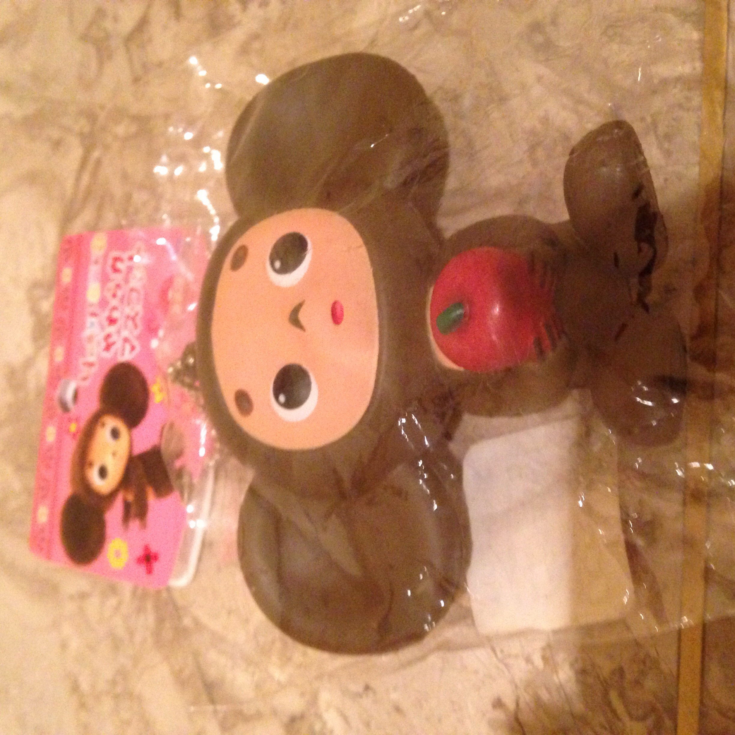 Rare Fish Squishy : Rare cheburashka holding an apple squishy ? SuzyCupcake ? Online Store Powered by Storenvy