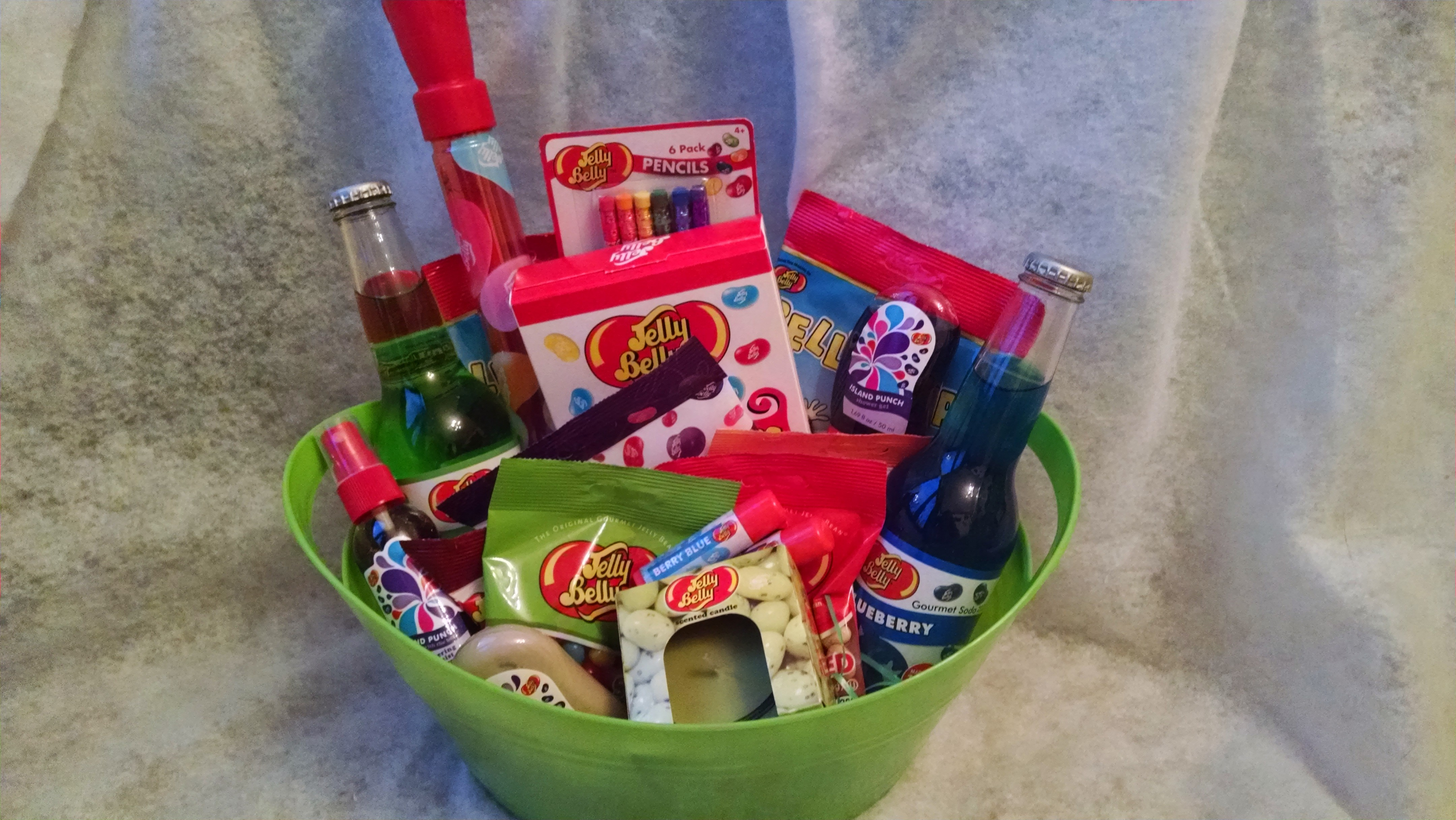 Jelly Belly Candy Gift Basket - Thumbnail ...