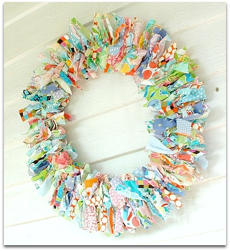 lilly pulitzer rustic decorative wreath - Decorative Wreaths