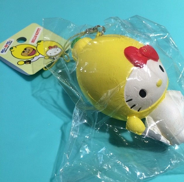 Super Rare HK in a Lemon squishy ? SuzyCupcake ? Online Store Powered by Storenvy