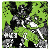 Invader - Invader medium photo