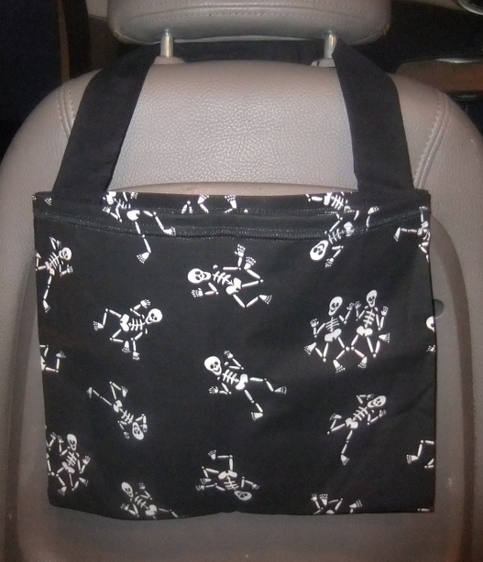 My Mind To Your Hands | Dancing Bones hanging bag for car ...