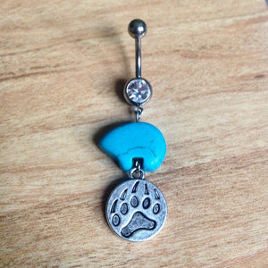 Bear Claw Belly Ring